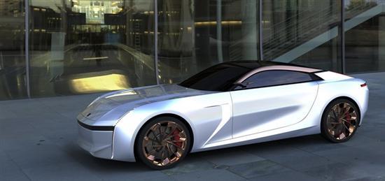 领克0X轿跑概念图 内饰采用2+2布局设计