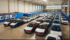 东风风光ix5专列抵达德国 中国品牌乘用车出口市